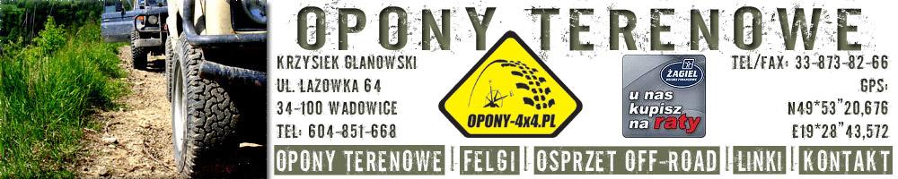 OPONY-4X4