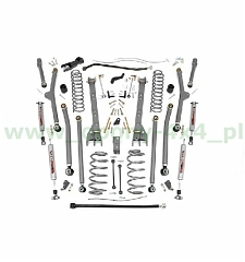 4'' LONG ARM ROUGH COUNTRY UPGRADE LIFT KIT - JEEP WRANGLER TJ 8600zl