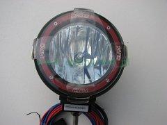 Halogen xenonowy HID typ DM980-1 35W 9-16V blackred fi 10cm