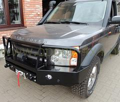 land rover discovery 3 bumper bez loga